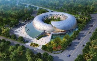 仙桃市市民环保科普馆建筑设计(2017)