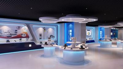 武汉精伦电子展厅设计(2015)