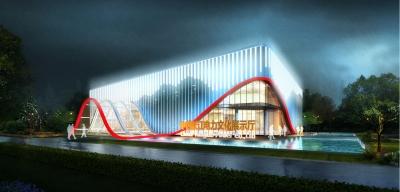 中国长江电力文化展示厅设计(2018)