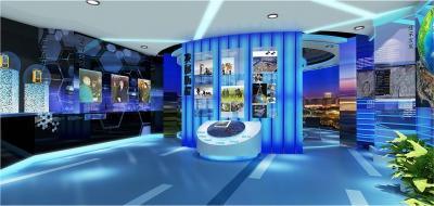 中国人民解放军75719部队成果展示厅设计