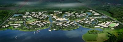 湖北经济学院新校区景观规划