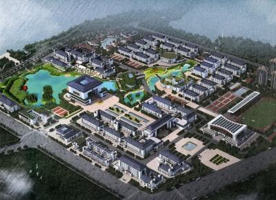 武汉腾讯学院生态廊道系统及水系统景观设计与施工
