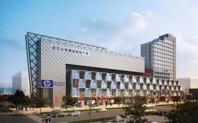 武汉大学原南极电脑城建筑改造(2011)