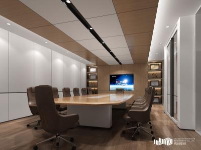 武汉长广建设集团办公空间设计(2018)