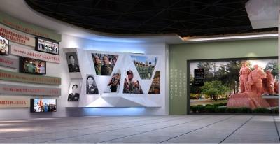 云南总队警史馆展区设计(2014)