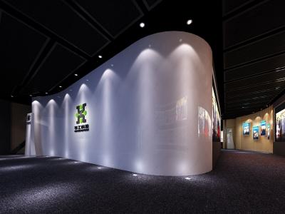 华工科技集团数字展厅空间设计(2011)