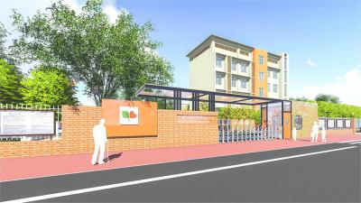 孝感市特殊教育学校校园景观设计