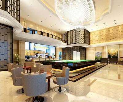 武汉中森华集团汉城广场招商大厅室内设计(2012)