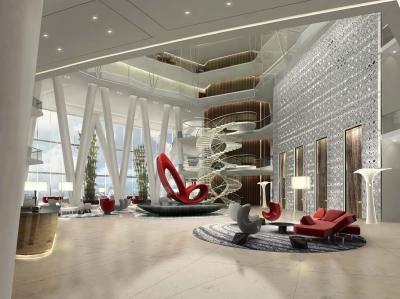 武汉光谷新世界酒店室内设计(2015)